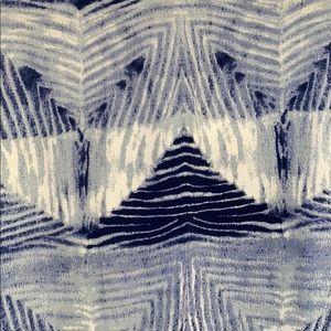 Anthropologie Tops - Anthropologie • Bel Kazan Blue Tie Dye Blouse (M)